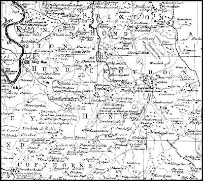 May of Croydon area early 1800s