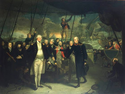 Admiral Duncan at Battle of Camperdown 1797