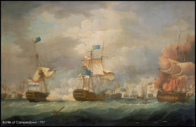 Battle of Camperdown 1797