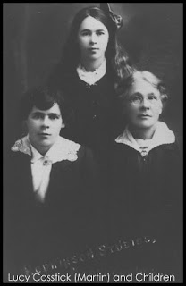 Lucy Martin and daughters