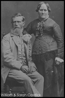 William and Sarah Cosstick