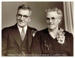 William Thomas Walker and Adeline