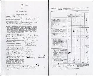 1843 Hobart Census