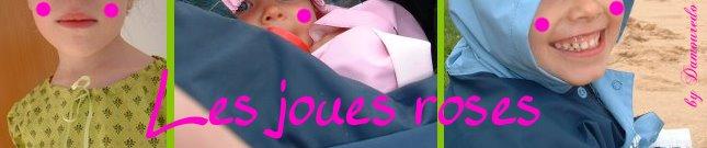 Les joues roses ...