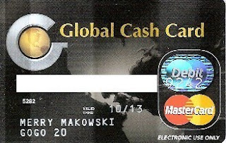 GoGo20 Baby!: GoGo20 Global Cash Card