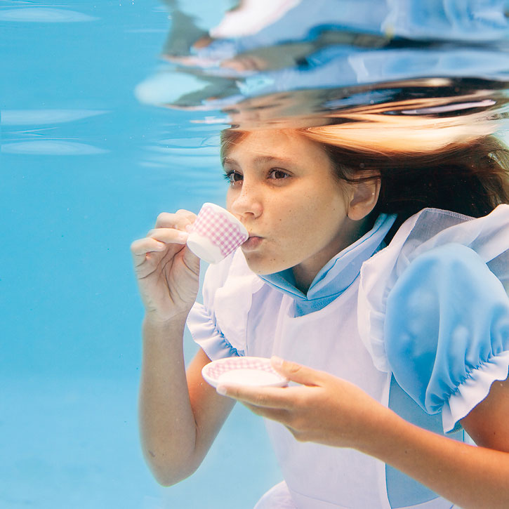Alice In Wonderland Water: Hopeful~ For Happy: Alice In Waterland By Elena Kalis