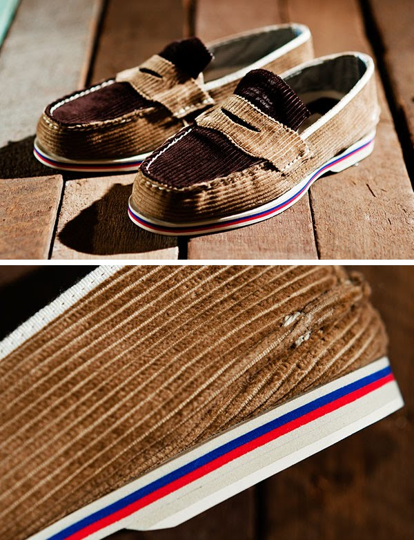 The collaboration between Band of Outsiders and Sperry Top ...