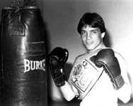 Louie Burke 1983 ESPN Lightweight Champion