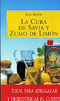 Cura de savia y zumo de limon