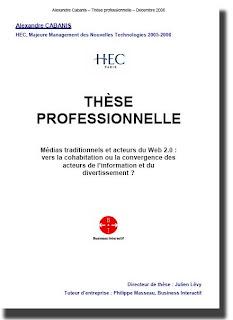 Livre Gratuit : Les médias traditionnels et le Web 2.0 par A. Cabanis 1