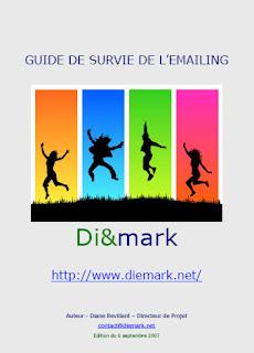 """Livre gratuit """"Le Guide de survie de l'emailing"""" (Diane Revillard) 1"""