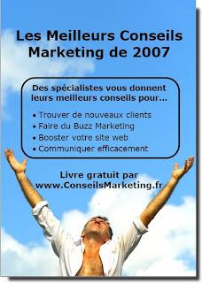 """Téléchargez le livre gratuit """"Les meilleurs conseils marketing de 2007"""" 4"""