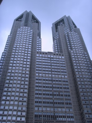 Visite de la Mairie de Tokyo