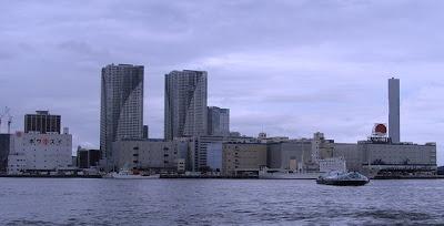 La ballade en bateau de Hinode Pier à Asakuza