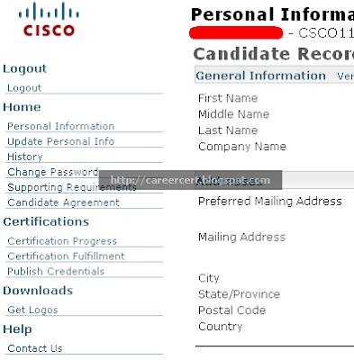 How to order your CCNA welcome kit or CISCO certificate » CareerCert ...