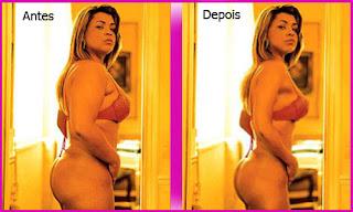 preta Fique mais bonita utilizando o Photoshop!!