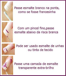 Unhas artisticas - Unhas decoradas lindas - um post com dicas para você começar a fazer a suas próprias unhas decoradas em casa.