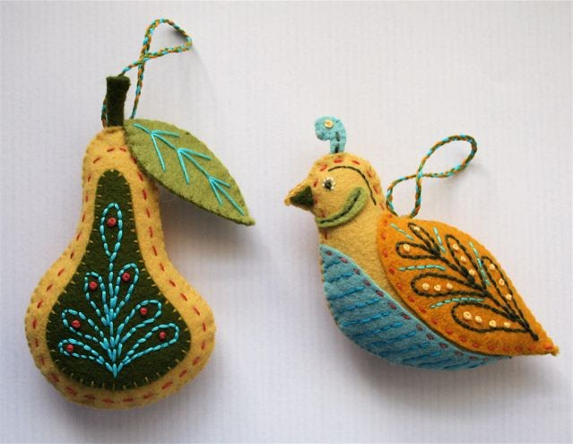 Partridge In A Pear Tree Ornament mmmcrafts: a pa...