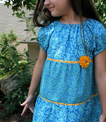 Lila Tueller Funked Out Peasant Blouse Pattern - Discount Designer