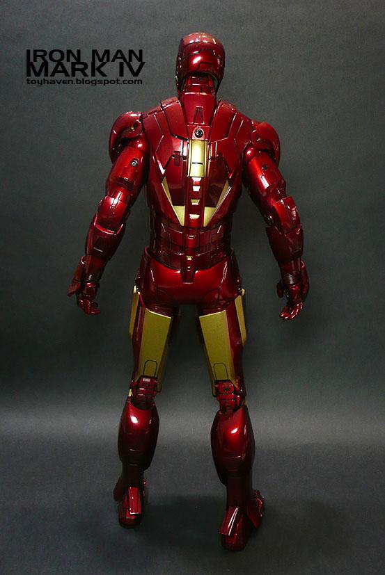 Toyhaven Hot Toys Iron Man 2 Mark Iv 1 6 Figure Review 1