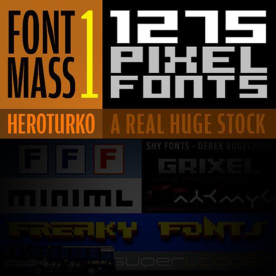 Pixel Fontlar