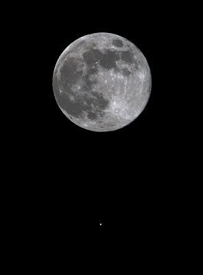 Full Moon and Mars ©2007 Chris W. Johnson