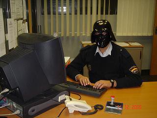 Darth Vader en acción
