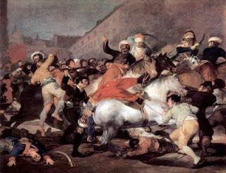 La carga de los mamelucos, de Goya