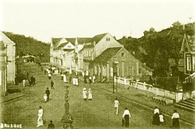 Vila de Brusque no inãio do século 20