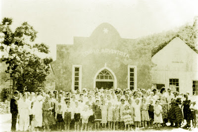 Segundo templo de Gaspar Alto, construäo após a II Guerra Mundial