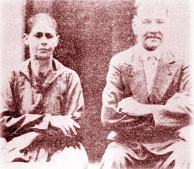 José Lourenço Mendes e esposa. A conversão dos Mendes, em 1904, marcou o inãio da transição do adventismo das colônias alemãs para os brasileiros de origem latina