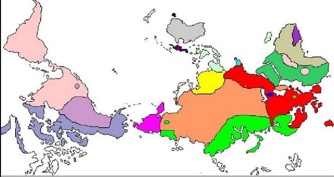 mapa de famílies lingüístiques