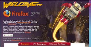 Mozilla Firefox 3 Beta 3