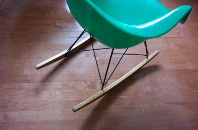 The north elevation icon revisited the eames rocker for Icon mobel eames