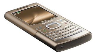 Nokia 6500 - slide