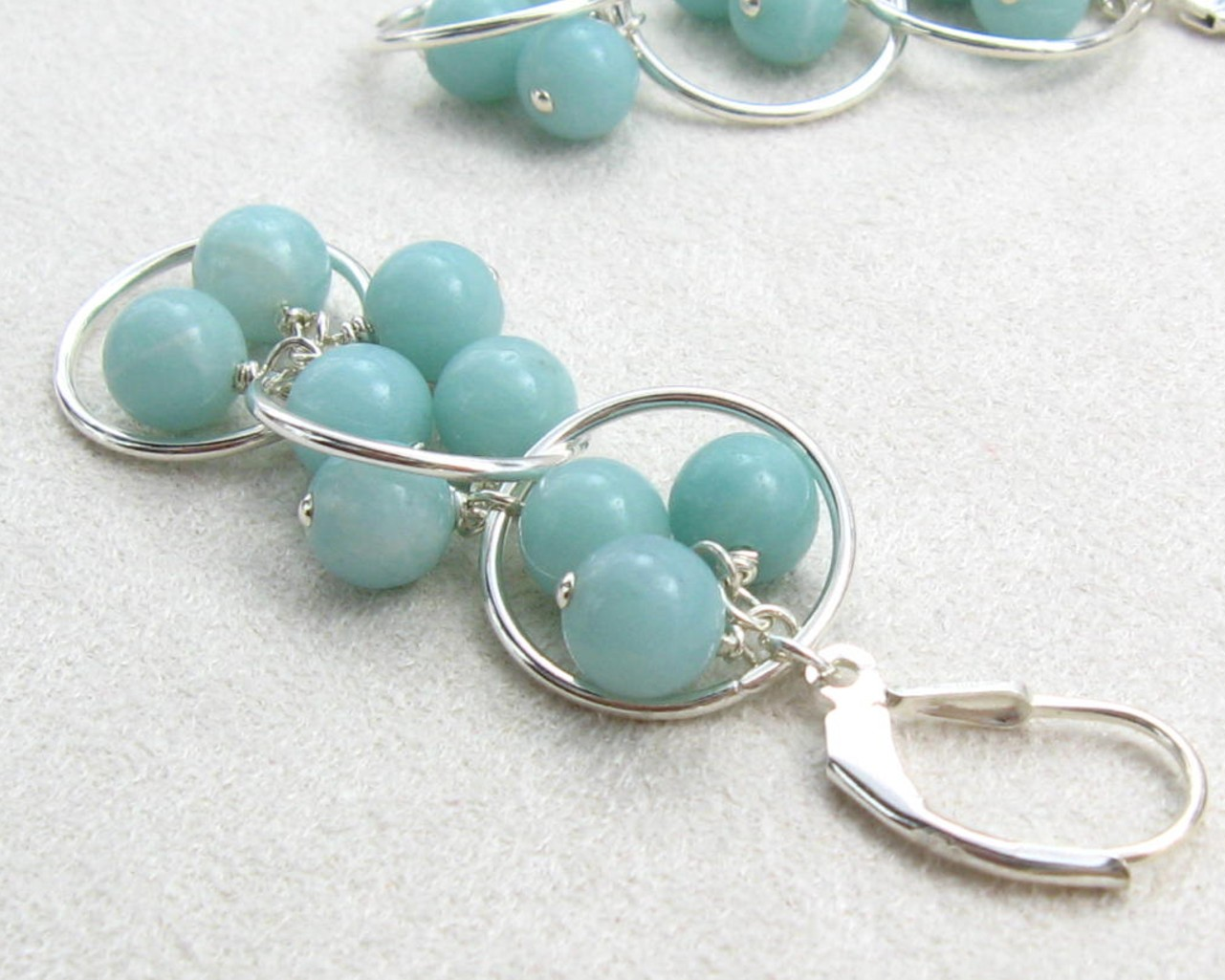 Gracie Jewellery: Handmade Sterling Silver Amazonite