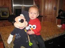 Mason and Mickey baby