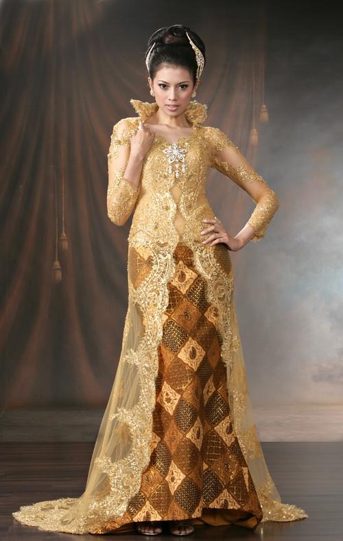 wedding dresses: wedding dresses batik motif