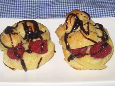 Easy Chocolate Profiteroles Recipe
