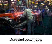 More and Better jobs