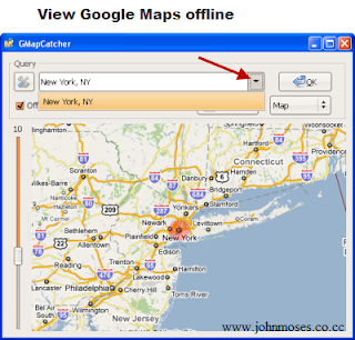 JOHNMOSES'S BLOG: HOW TO VIEW GOOGLE MAP IN OFFLINE
