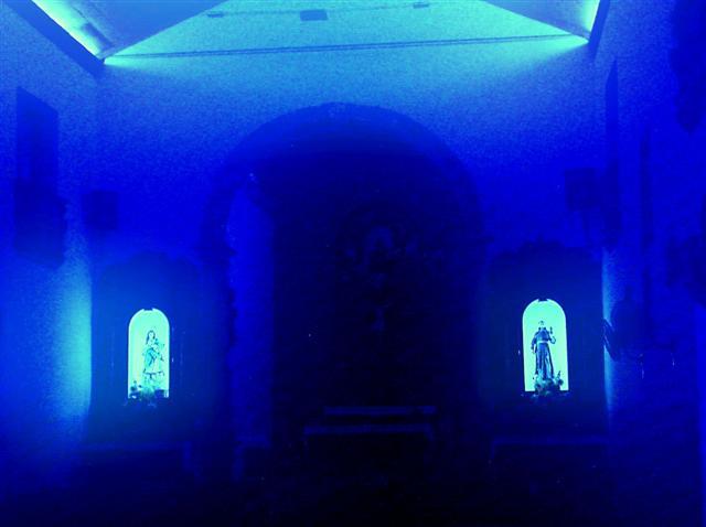 Interior da Igreja do Galo