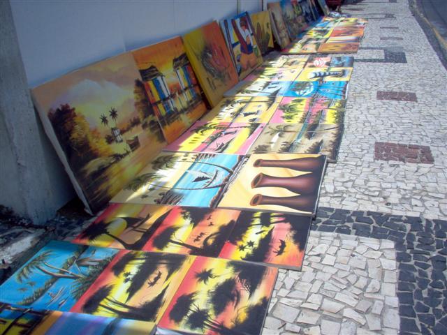 Arte popular em Ponta Negra