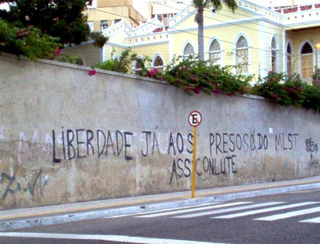 Escrita de muro