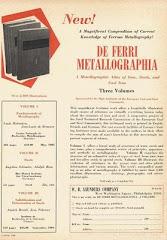 DE FERRI METALLOGRAPHIA