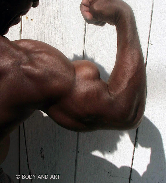 "ROBBY ROBINSON - BICEPS - SCENE FROM ""BUILT"" DVD"