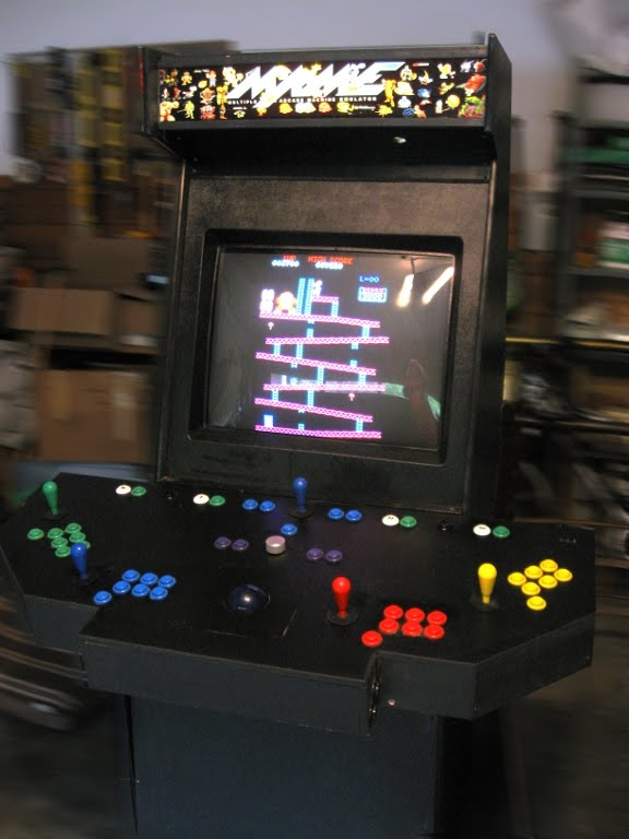 Fifty Outs Everythinginabox MAME Arcade Cabinet