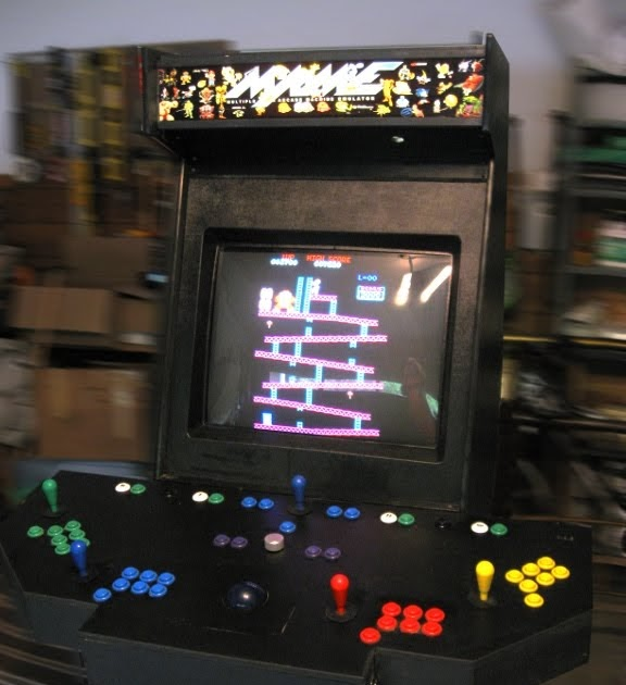 Mame Arcade 4 Player: Arcade Led Mame 2 Player Usb Bundle