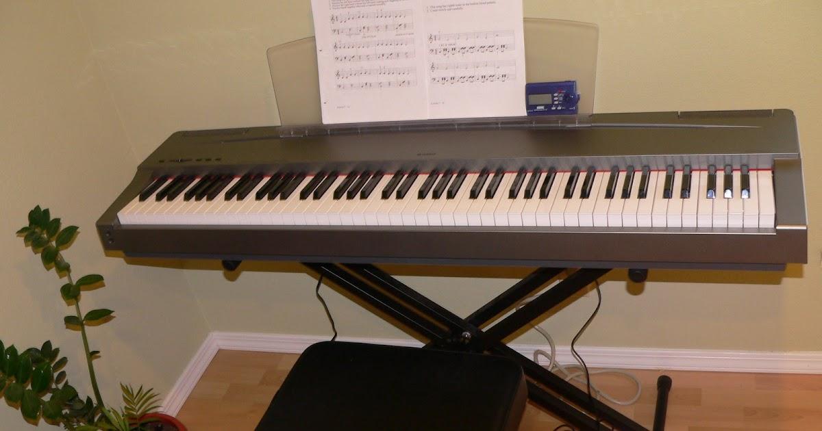 One familys blog yamaha p65 the new yamaha p45b digital for Yamaha p45b keyboard