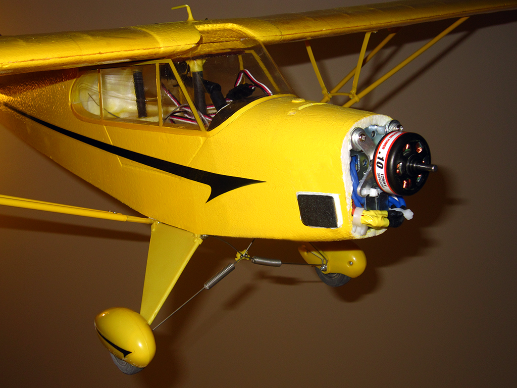 Z8rc Fixing Flyzone S Select Scale Super Cub